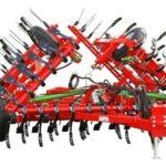 Tractor-mounted weeder
