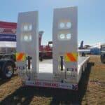 lowbed low bed lowboy truck trailer